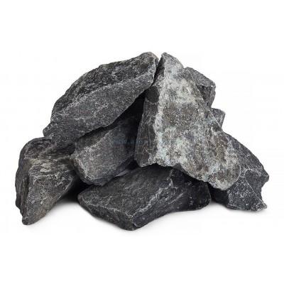 Долерит колотый камень для бани и сауны 1 кг в фирменной упаковке