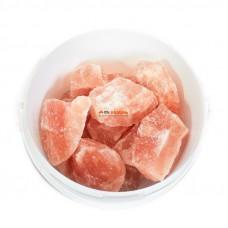 Гималайская соль для бани кусковая 1 кг (средняя фракция)