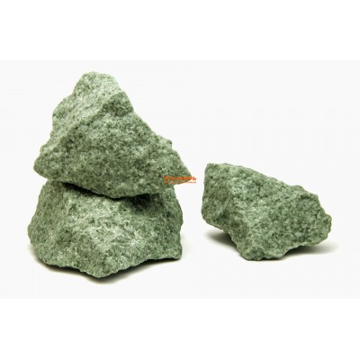 Жадеит колотый  Хакасия камень для бани 1 кг
