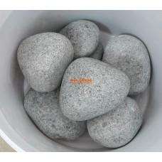 Жадеит шлифованный сортовой для бани и сауны, 1 кг