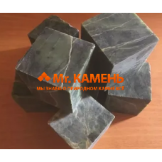 Нефрит кубики шлифованные 1 кг