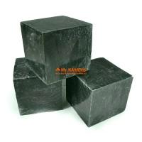 Нефрит кубики полированные камень для бани и сауны, 1 кг
