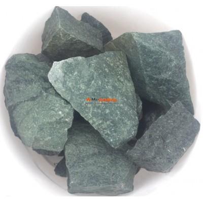 Жадеит колотый сортовой камень для бани 1 кг