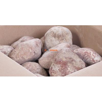 Малиновый кварцит галтованный 1 кг в фирменной упаковке