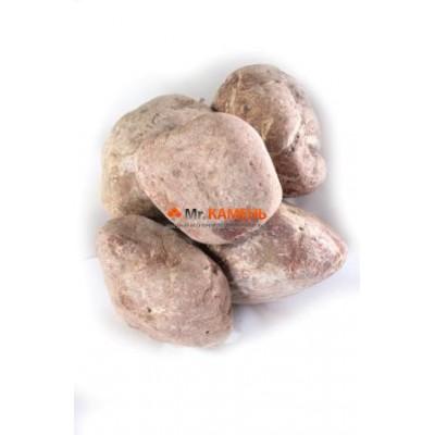 Малиновый кварцит галтованный 1 кг