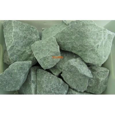 Жадеит колотый камень для бани 1 кг фирменная упаковка для электрических печей