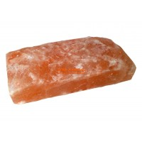 Плитка блок из гималайской соли необработанная 200*200*25 мм, 1шт